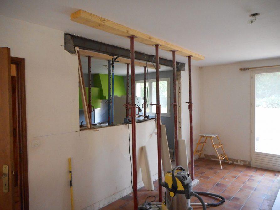 ouverture mur porteur samois sur seine  construction